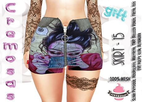 .:: Cremosas Store ::. Skirt - 15 - GIFT