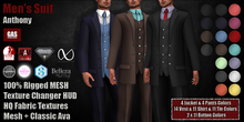 GAS [Men's Suit Anthony - FATPACK w/HUD]