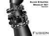 :Fusion: Multi Chained Bracelets [silver]