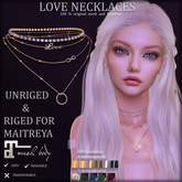 *AvaWay* LOVE Necklaces