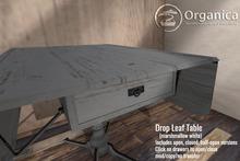 [ Organica ] Drop Leaf Table (marshmallow white)