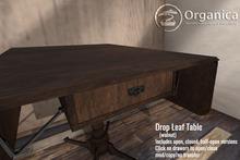 [ Organica ] Drop Leaf Table (walnut)