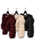.:villena:. - Pelted Fur Jacket - Classy