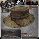 D1-MTG StreetFighter Boonie Hat Cadpat Desert
