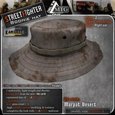 D1-MTG StreetFighter Boonie Hat Marpat Desert