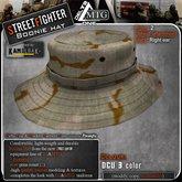D1-MTG StreetFighter Boonie Hat DCU3c