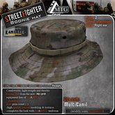 D1-MTG StreetFighter Boonie Hat MultiCamil