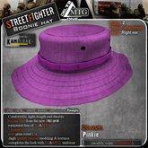 D1-MTG StreetFighter Boonie Hat Pink