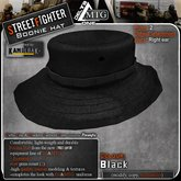 D1-MTG StreetFighter Boonie Hat Black