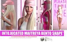 ***  Gift *** INTOXICATED MAITREYA BENTO SHAPE // eyebrow shape included // 7 DAYS PROMO!!! ON CATYA CATWA CUSTOMIZED