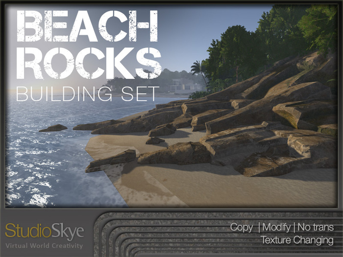 Skye Beach Rocks Building Set