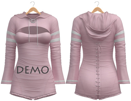 Blueberry - Laura - Sweater and Corset Dress - DEMO