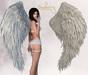 Blueberry - Icon - Bento Angel Wings - Cream