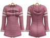 Blueberry - Laura - Sweater and Corset Dress - Pink