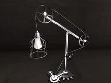 [SymboliC]: Cog & Pully Lamp