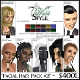 -Facial Hair Pack #2- From Wylde Style by Khyle Sion