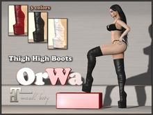 OrWa Thigh High Boots