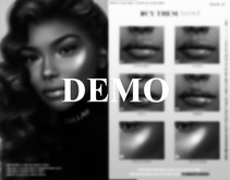 TRES BEAU MAKEUP THE FENTY COLLECTION LIPS #DEMO (CATWA)