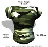 [F] Camo Jungle - Fitmesh - All Sizes