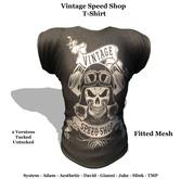 [F] Vintage Speed Shop - Fitmesh - All Sizes