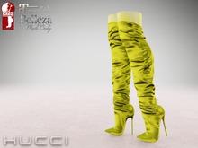::HH:: Hucci Saanen Satin Boot - LimePunch