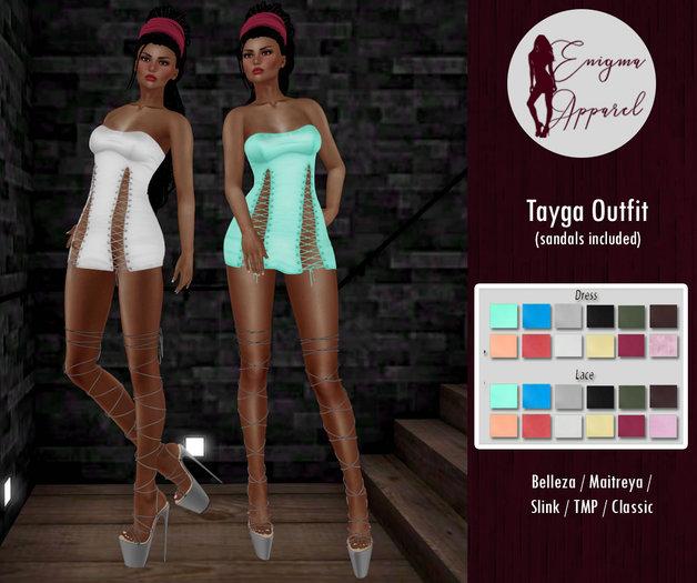 [EN] Tayga Outfit{ WEAR }