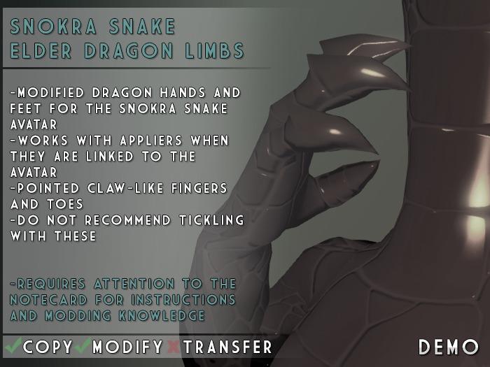 Visual Magick // Elder Dragon Clawed Limbs DEMO