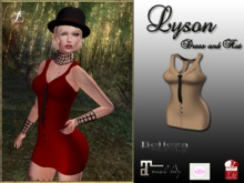 LR-Lyson Dress  Nude (sac)