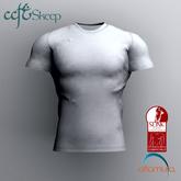 Skeep - Round Neck Shirt - White