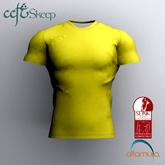 Skeep - Round Neck Shirt - Yellow