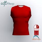 Skeep - Sleeveless Shirt - Red