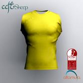 Skeep - Sleeveless Shirt - Yellow