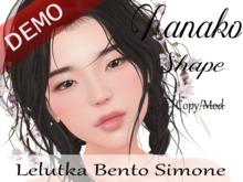 "Nanako Shape ""Lelutka Bento Simone Head"" Demo"