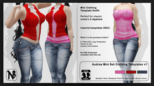 Audrea Clothing Templates 1b