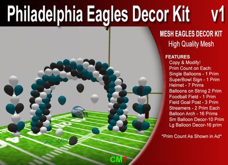 Philadelphia Eagles Decor Kit Copy