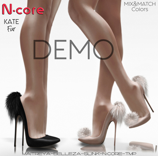 "DEMO N-core KATE Fur ""FatPack"""