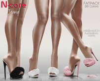"N-core JEANE ""FatPack"" 20 colors"