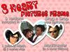 Custom Love: 3 Heart Pictures Frame