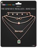 Amala - The Genevieve Necklaces - Rose