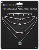 Amala - The Genevieve Necklaces - Silver