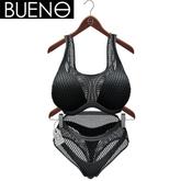 BUENO - Net Bikini - Black - Belleza Freya, Slink Hourglass, Fit Mesh
