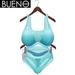 BUENO - Net Bikini - Sea - Belleza Freya, Slink Hourglass, Fit Mesh