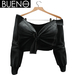 BUENO - Knot Shirt - Black Torn - Belleza, Freya, Isis, Slink, Hourglass, Fit Mesh