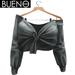 BUENO - Knot Shirt - Charcoal Torn - Belleza, Freya, Isis, Slink, Hourglass, Fit Mesh