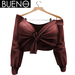 BUENO - Knot Shirt - Red - Belleza, Freya, Isis, Slink, Hourglass, Fit Mesh
