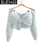 BUENO - Knot Shirt - White - Belleza, Freya, Isis, Slink, Hourglass, Fit Mesh