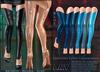 A&Y Opiliones Cyber Legwarmers - Blue