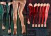 A&Y Opiliones Cyber Legwarmers - Red