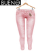 Bueno - Jeans - Coral Dots - Slink Hourglass, Physique, Fit Mesh