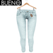 Bueno - Jeans - Light Dots - Slink Hourglass, Physique, Fit Mesh